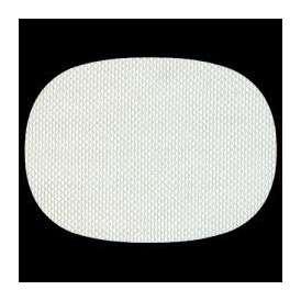 マット 尺3小判マット AS-9-2 ホワイト格子 390x292mm 1枚 <br>敷マット テーブルマット 樹脂マット ランチョンマット02P05Sep15