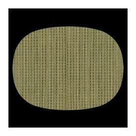 マット 尺3小判マット AS-9-12 よもぎ格子 390x292mm 1枚 <br>敷マット テーブルマット 樹脂マット ランチョンマット02P05Sep15