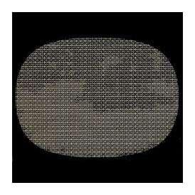 【sale】尺3小判マット AS-9-14 金銀格子 390x292mm 1枚 <br>敷マット テーブルマット 樹脂マット ランチョンマット02P05Sep15