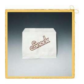 【クロネコDM便対応】スナックポテト袋 (小) (100枚) <br>【テイクアウト/フライドポテト/軽食用包材/包装資材/業務用】