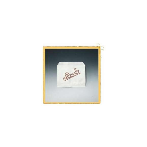 テイクアウト スナックポテト袋 (小) (5000枚/ケース)<br>【テイクアウト/フライドポテト/ファーストフード/フライドチキン/軽食用包材/包装資材/業務用/送料無料】01