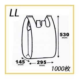 ニューイージーバッグ LLサイズ (1000枚/ケース)【ポリ袋/レジ袋/ビニール袋/テイクアウト/持ち帰り/レジタイ/バッグ/買い物】