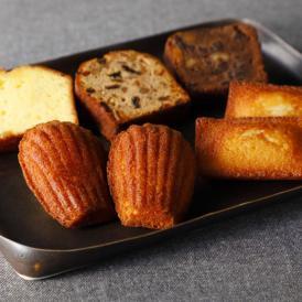 発酵バターをふんだんに使った風味豊かな焼菓子をご堪能下さい。