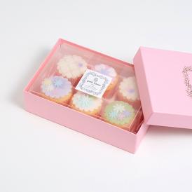 【ギフト用箱入】デコレーションカップケーキ6個セット