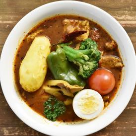 チキンと舞茸のスープカレーベース