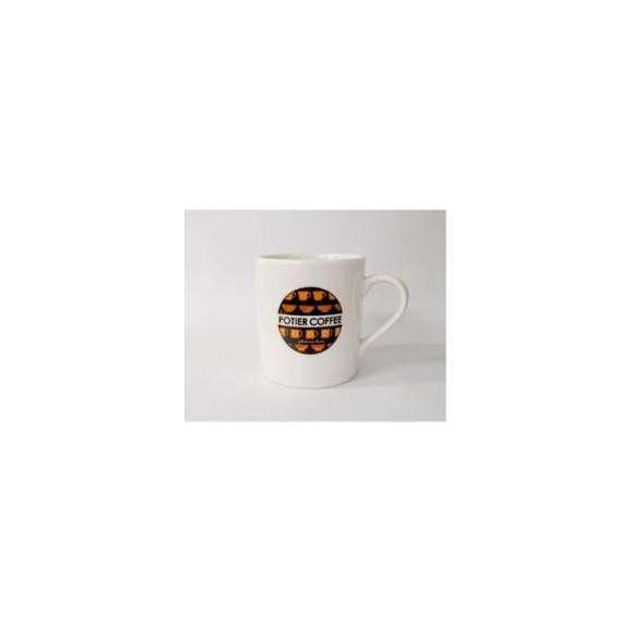 ポティエコーヒーオリジナルマグカップ(ロゴ) M01