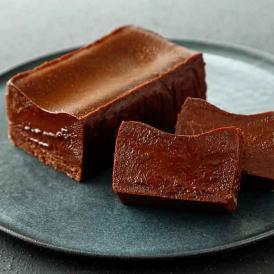 レストランで提供されているガトーショコラを、持ち帰り用に商品化した一品です。