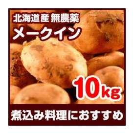 特Aランク品 2013年 新じゃがいも 北海道 十勝産 産地直送 じゃが芋(じゃがいも) メークイン 10kg