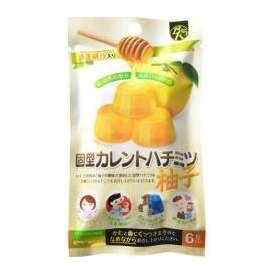 固型カレントハチミツ 柚子 6粒入り ビーケー