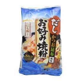 オーマイ だしお好み焼粉 かつお昆布風味 400g 日本製粉