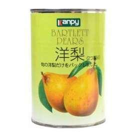 カンピー 洋梨 4号缶 410g 加藤産業