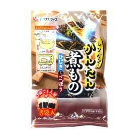レンジでかんたん煮物 ひじきとごぼう 8g×3袋