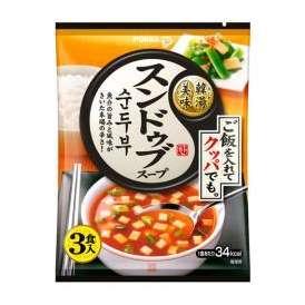 韓湯美味 スンドゥブスープ 10g×3食入 ポッカサッポロフード&ビバレッジ