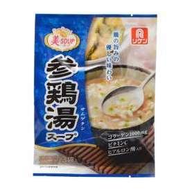 美-SOUP 参鶏湯(サムゲタン)スープ 3袋入 理研ビタミン