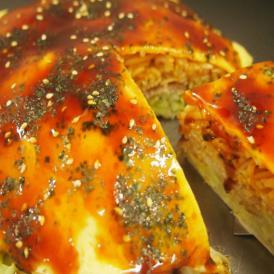 広島名物お好み焼きそば肉玉いか天いり【1枚:430g × 5枚セット】