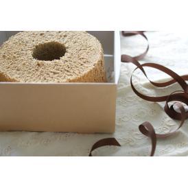 備長炭焙煎珈琲のシフォンケーキ(バレンタインホワイトデー贈り物内祝贈答品母の日ゴルフ記念品うちカフェ)