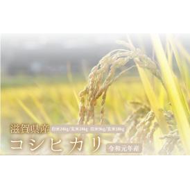 コシヒカリ 滋賀県産 令和元年産 玄米10キロ 白米9キロ 北海道・沖縄を除き送料無料