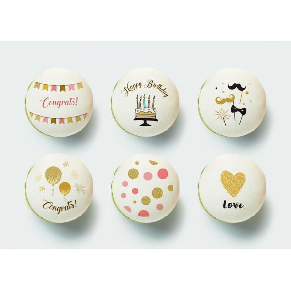 Happy Birthday マカロン(6個入り)01