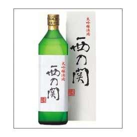 西の関 大吟醸 滴酒 720ml瓶 萱島酒造 大分県 化粧箱入