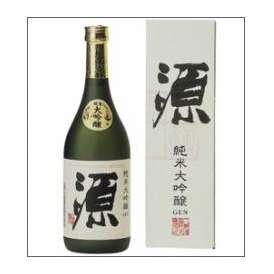 【取寄商品】八鹿 「源」純米大吟醸 720ml瓶 創業百年記念酒 八鹿酒造 大分県 化粧箱入