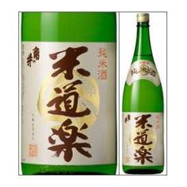 【取寄商品】角の井 純米酒 米道楽 1800ml瓶 井上酒造 大分県 化粧箱なし
