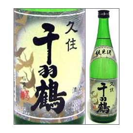 千羽鶴 純米酒 720ml瓶 佐藤酒造 大分県 化粧箱なし【取寄商品】