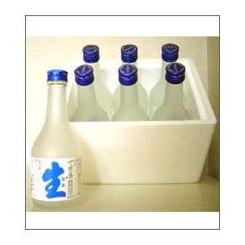 一の井手 本なま(本醸造生酒) 300ml瓶×6本 発泡スチロール入 久家本店【蔵元直送/代引不可/送料・クール料込】