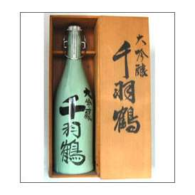 千羽鶴 大吟醸 1800ml陶器 佐藤酒造 大分県 木箱入【取寄商品】