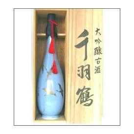 千羽鶴 大吟古酒 900ml瓶 佐藤酒造 大分県 木箱入【取寄商品】