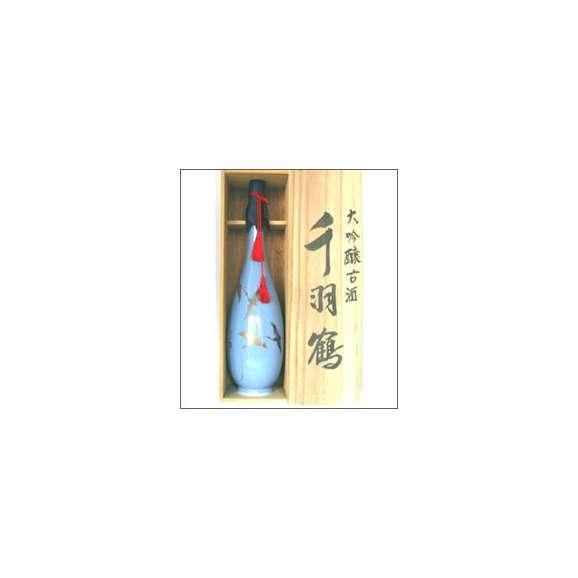千羽鶴 大吟古酒 900ml瓶 佐藤酒造 大分県 木箱入【取寄商品】01