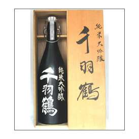 千羽鶴 純米大吟醸 1800ml陶器 佐藤酒造 大分県 木箱入【取寄商品】