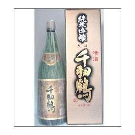千羽鶴 純米吟醸 1800ml瓶 佐藤酒造 大分県 化粧箱入【取寄商品】