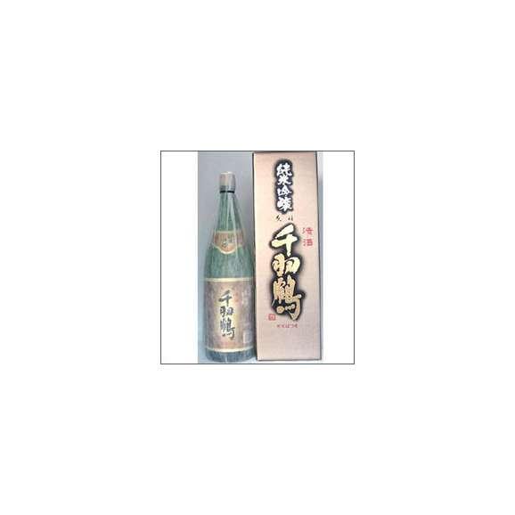 千羽鶴 純米吟醸 1800ml瓶 佐藤酒造 大分県 化粧箱入【取寄商品】01