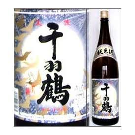千羽鶴 純米酒 1800ml瓶 佐藤酒造 大分県 化粧箱なし【取寄商品】