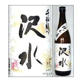 千羽鶴 純米酒 沢水(そうみ)720ml瓶 佐藤酒造 大分県 化粧箱なし【取寄商品】