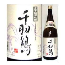 千羽鶴 本醸造 1800ml瓶 佐藤酒造 大分県 化粧箱なし【取寄商品】
