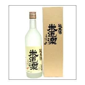 角の井 純米酒 米道楽 720ml瓶 井上酒造 大分県 化粧箱入【取寄商品】