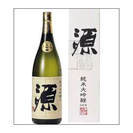 八鹿 純米大吟醸酒【源】1800ml瓶 八鹿酒造 大分県 化粧箱入【取寄商品】