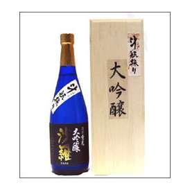 【取寄商品】倉光 斗瓶採り大吟醸 沙羅 720ml瓶 倉光酒造 大分県 木箱入