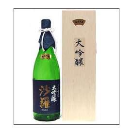 【取寄商品】倉光 純米大吟醸 沙羅 1800ml瓶 倉光酒造 大分県 木箱入