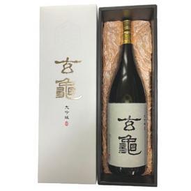 亀の井 大吟醸 玄亀 1800ml瓶 亀の井酒造 大分県 化粧箱入【取寄商品】