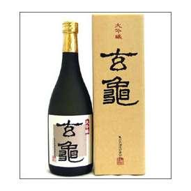 亀の井 大吟醸 玄亀 720ml瓶 亀の井酒造 大分県 化粧箱入【取寄商品】
