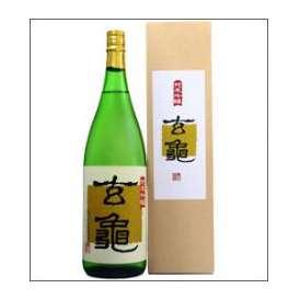 【取寄商品】亀の井 純米吟醸 玄亀 1800ml瓶 亀の井酒造 大分県 化粧箱入