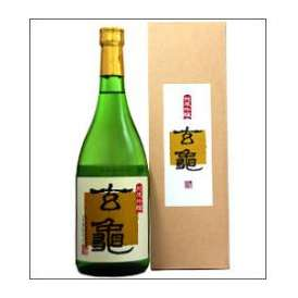 【取寄商品】亀の井 純米吟醸 玄亀 720ml瓶 亀の井酒造 大分県 化粧箱入