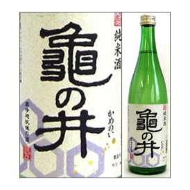 亀の井 純米酒 720ml瓶 亀の井酒造 大分県 化粧箱なし【取寄商品】