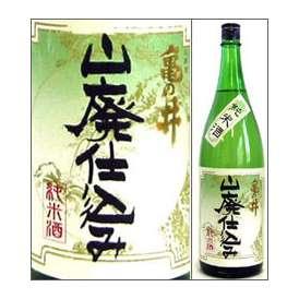 亀の井 山廃仕込み純米酒 1800ml瓶 亀の井酒造 大分県 化粧箱なし【取寄商品】