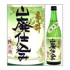 亀の井 山廃仕込み純米酒 720ml瓶 亀の井酒造 大分県 化粧箱なし【取寄商品】
