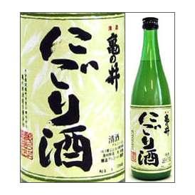 亀の井 にごり酒 720ml瓶 亀の井酒造 大分県 化粧箱なし【取寄商品・常温流通】