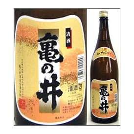 亀の井 上撰 1800ml瓶 亀の井酒造 大分県 化粧箱なし【取寄商品】