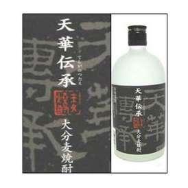 25度 天華伝承(てんがのつたえ) 720ml瓶 麦焼酎 亀の井酒造 大分県 化粧箱なし
